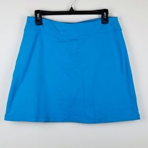Athleta blue skort with pocket